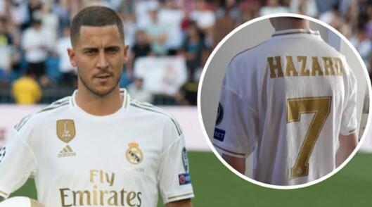 Absennya Pemilik Nomor Punggung 7 Klub Real Madrid, Eden Hazard Di Laga Perdana La Liga