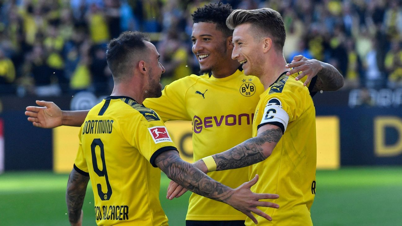 Main di Kandang, Borussia Dortmund Bantai Bayer Leverkusen 4-0