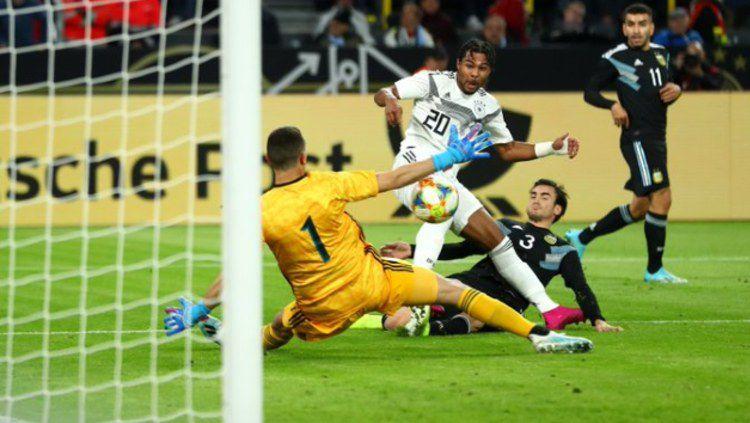Jerman Gagal Rebut Kemenangan Dari Argentina